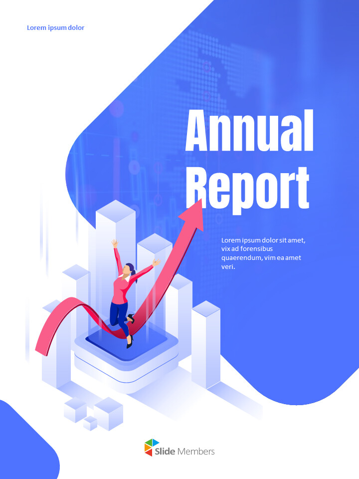 Business Illustration Annual Report Google Slides Themes & Templates_01