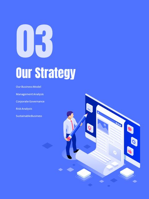 Business Illustration Annual Report Google Slides Themes & Templates_03