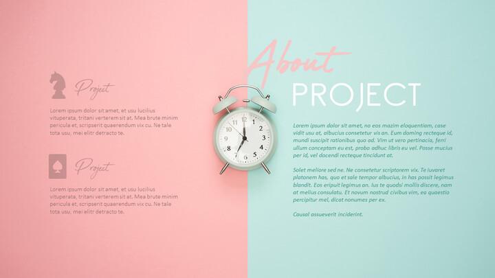 프로젝트 정보 PPT 슬라이드 덱_01