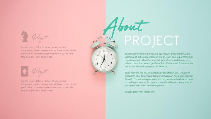 프로젝트 정보 PPT 슬라이드 덱_02