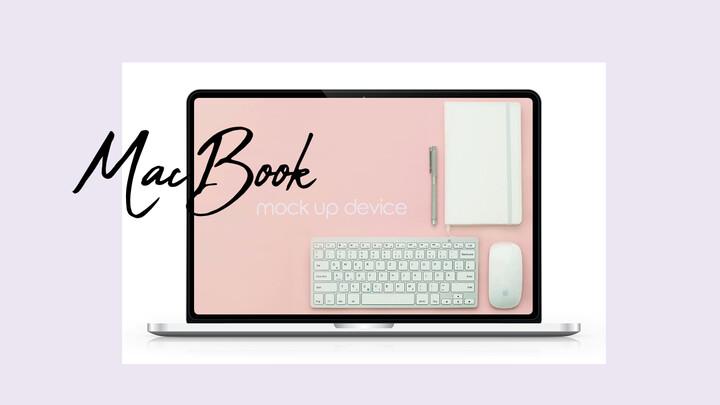 MacBook Mockup Device PPT Deck_02