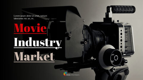 Movie Presentation Powerpoint Templates Design