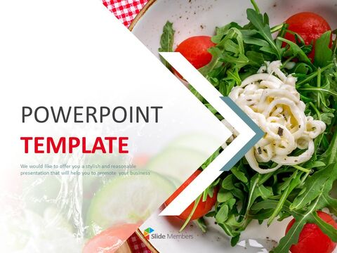 Free Presentation Templates - Mayonnaise Salad_01