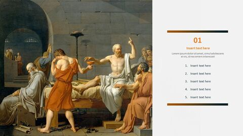 "Jacques-louis David \""소크라테스의 죽음\"" - 무료 템플릿 디자인_03"