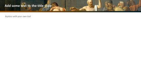 "Jacques-louis David \""소크라테스의 죽음\"" - 무료 템플릿 디자인_05"