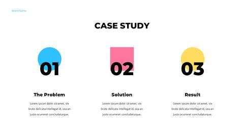 우리는 Creative Pitch Deck Design입니다. 편집이 쉬운 프레젠테이션 템플릿_03