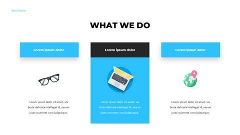 우리는 Creative Pitch Deck Design입니다. 편집이 쉬운 프레젠테이션 템플릿_05