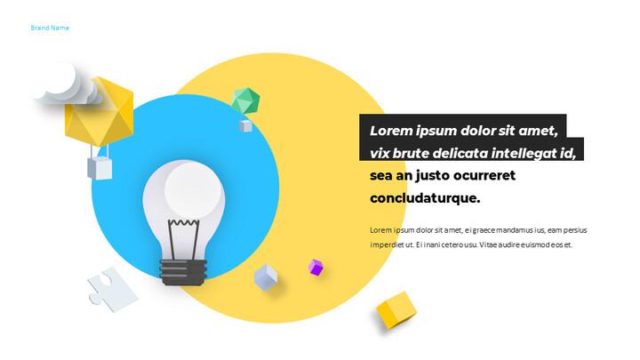 우리는 Creative Pitch Deck Design입니다. 심플한 Google 슬라이드 템플릿_02