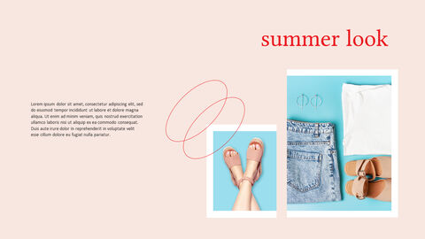 여름 룩북 파워포인트 프레젠테이션 PPT_07