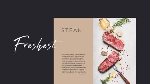 고기와 연어 전문점 비즈니스 PPT_19