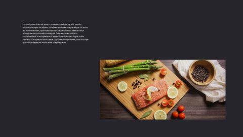 고기와 연어 전문점 비즈니스 PPT_24