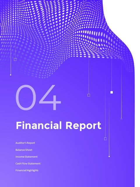 동적 배경 연례 보고서 베스트 PPT 슬라이드_17