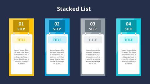 4 단계 프로세스 목록 다이어그램_12