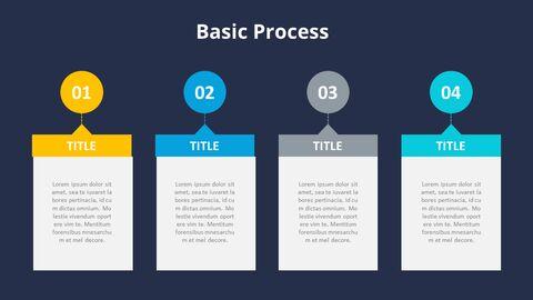 4 단계 프로세스 목록 다이어그램_15