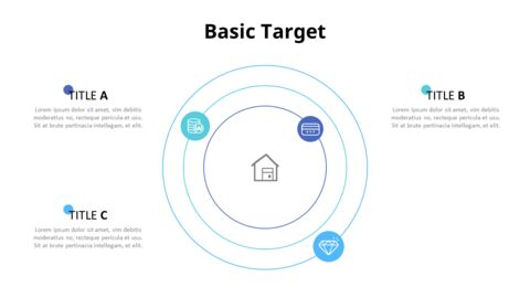 Circles with Text Boxes Diagram_04
