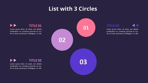 Circles with Text Boxes Diagram_08