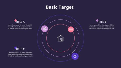 Circles with Text Boxes Diagram_09