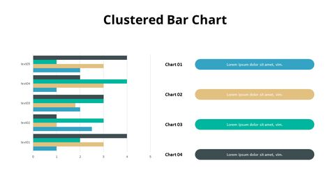 Cluster Bar with Right Side Text_05
