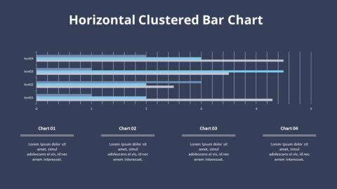 Cluster Horizontal Bar Chart and Texts_10