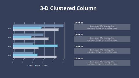Cluster Horizontal Bar Chart and Texts_12
