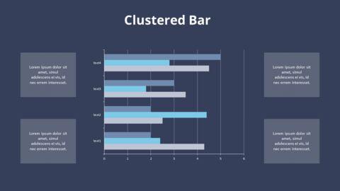 Cluster Horizontal Bar Chart and Texts_13