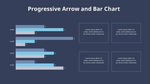 Cluster Horizontal Bar Chart and Texts_15