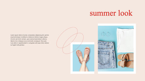 여름 룩북 키노트의 PPT_07