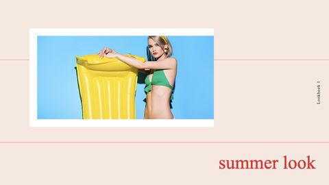 여름 룩북 키노트의 PPT_15