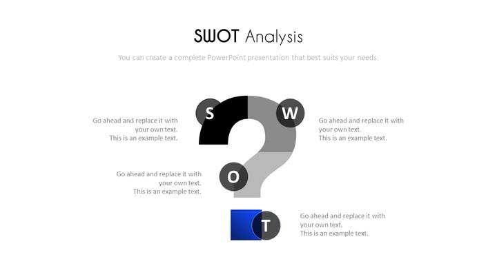 SWOT 분석 프레젠테이션 슬라이드_01