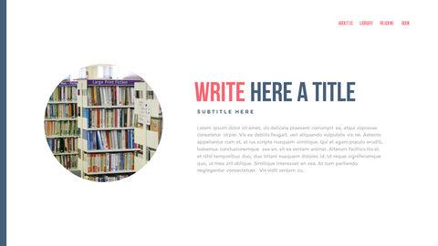 도서관 프레젠테이션용 PowerPoint 템플릿_08