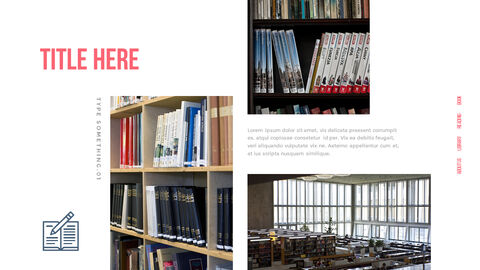 도서관 프레젠테이션용 PowerPoint 템플릿_10
