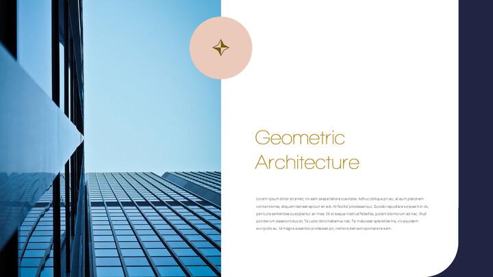 기하학적 건축 비즈니스 프리젠테이션_02