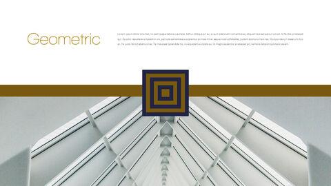 기하학적 건축 비즈니스 프리젠테이션_03