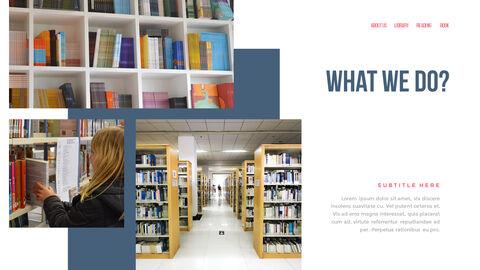 도서관 프레젠테이션용 PowerPoint 템플릿_16