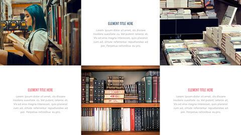 도서관 프레젠테이션용 PowerPoint 템플릿_21