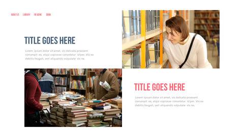 도서관 프레젠테이션용 PowerPoint 템플릿_27