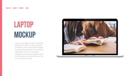 도서관 프레젠테이션용 PowerPoint 템플릿_39