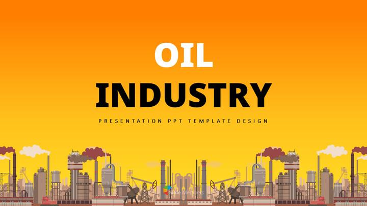 석유 산업 베스트 프레젠테이션 디자인_01