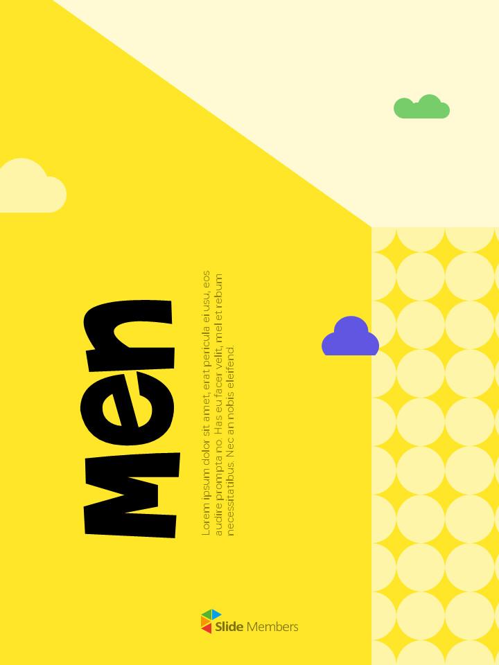 남성 일러스트 세로형 디자인 비즈니스 사업 PPT 템플릿_01