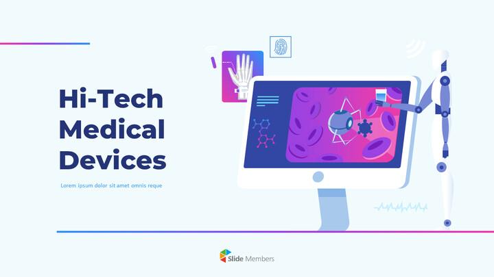 PPT animado de dispositivos médicos de alta tecnología_01
