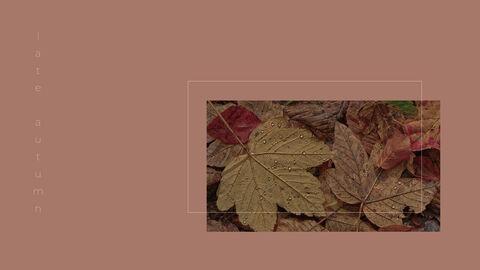 우울한 가을 파워포인트 디자인 다운로드_12