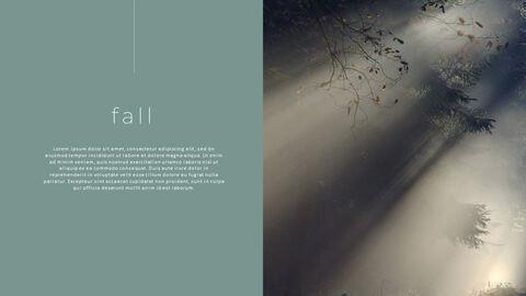 우울한 가을 파워포인트 디자인 다운로드_16