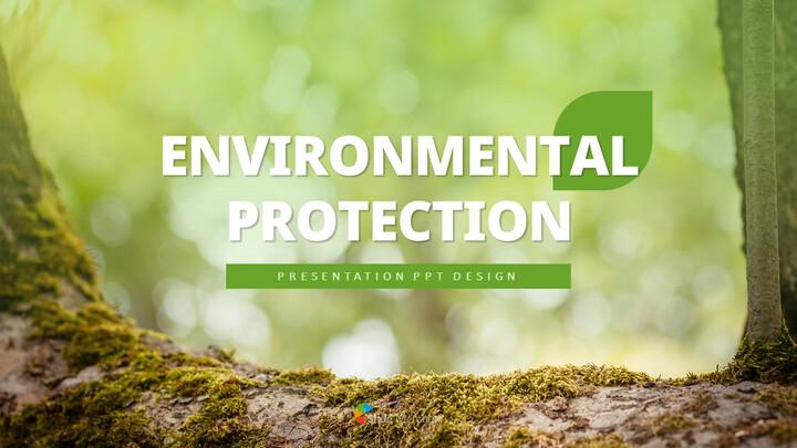 환경 보호 프레젠테이션용 PowerPoint 템플릿_01