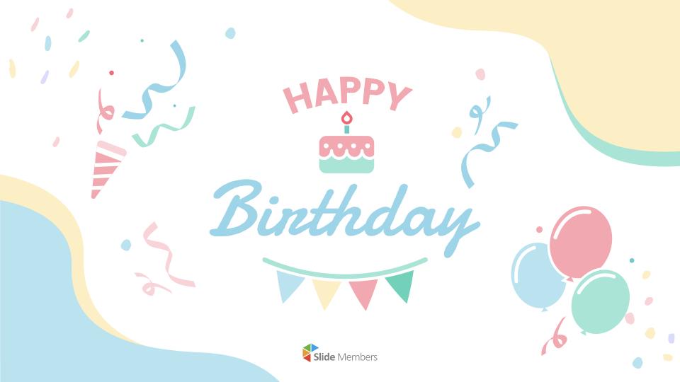 Alles Gute Zum Geburtstag Vorlage Geschenkkarte 0