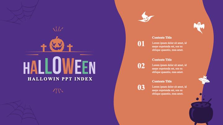 Halloween Simple Keynote Template_02