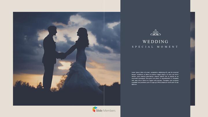결혼식 특별한 순간 비즈니스 파워포인트 템플릿_01