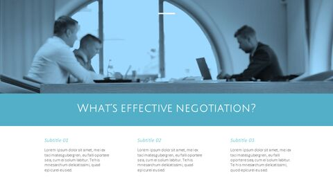 Negotiation presentation slide design_19