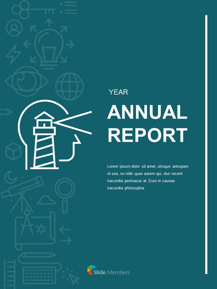 Simple Annual Report Google Slides Presentation_01