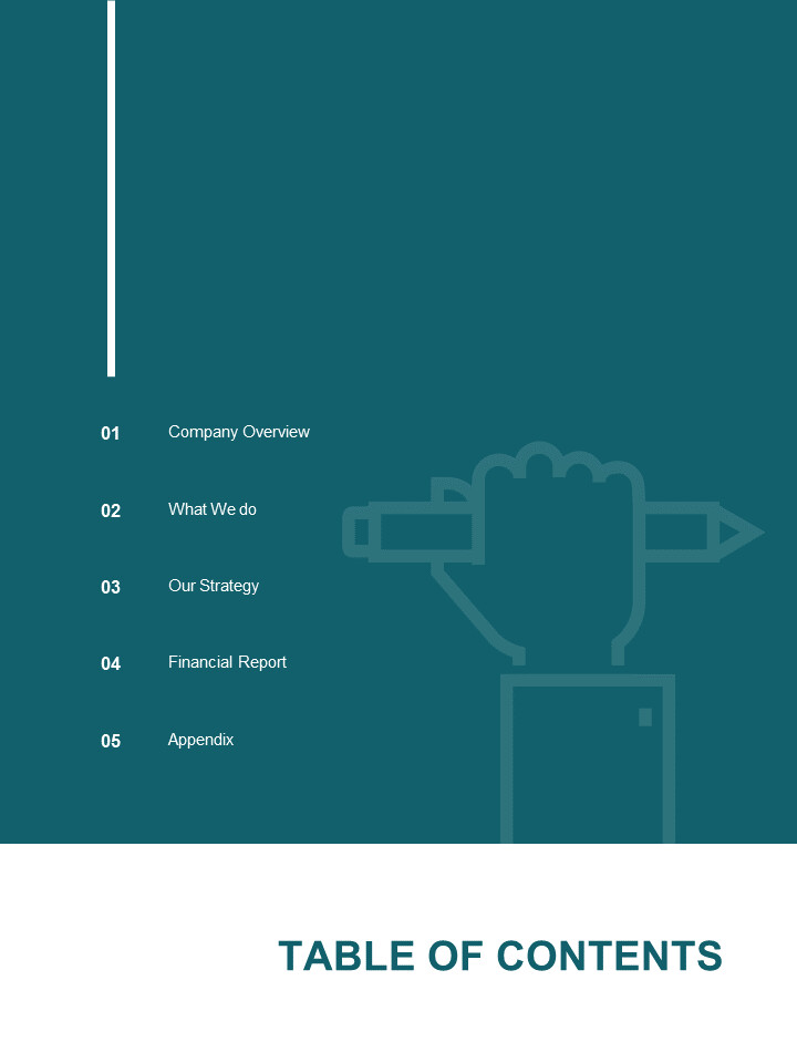 Simple Annual Report Google Slides Presentation_02