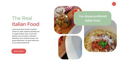 이탈리아 음식 비즈니스 프레젠테이션 템플릿_03